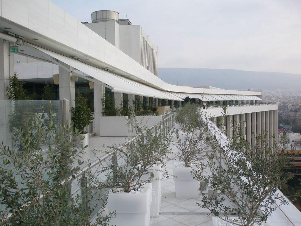Τέντα markilux 5010 στο Hilton | by Tentagon