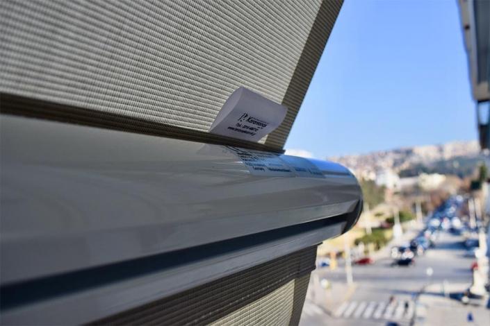Τέντα markilux 1300 με ρυθμιστή κλίσης στη Θεσσαλονίκη