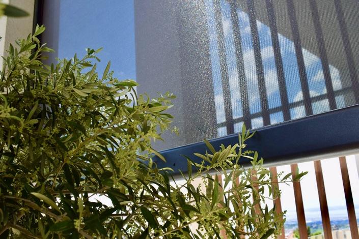 Τέντες markilux 776 tracfix στα Panoramalofts στη Θεσσαλονίκη
